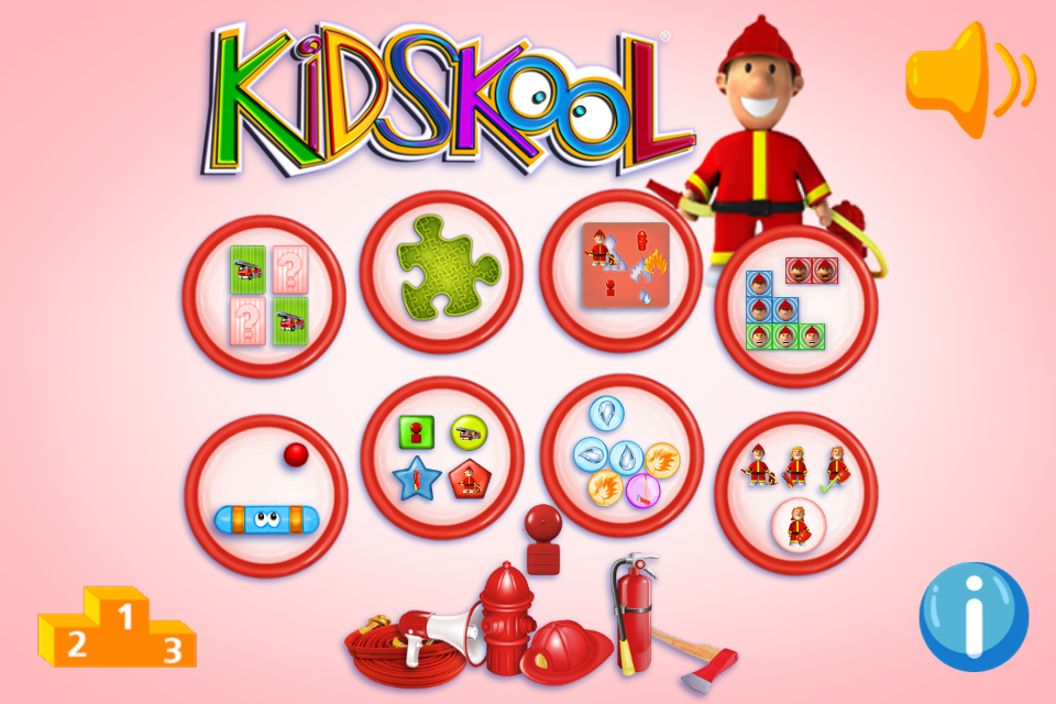 Screenshot Kidskool: Fireman